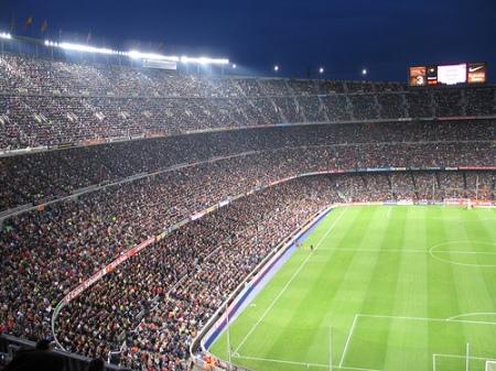 Camp Nou - aici fotbalul capata alta dimensiune